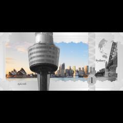 2017 Cook Islands 5 Gram Silver Banknote (Sydney Skyline Dollar)
