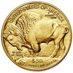 1 oz American Gold Buffalo Coin - Random Year