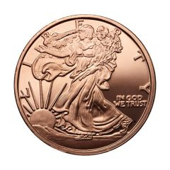 Walking Liberty 1 oz Copper Round - Osborne Mint
