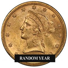 $10 Liberty Eagle Gold Coin (BU) - Random Year