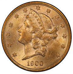 $20 Liberty Double Eagle Gold Coin (AU) - Random Year