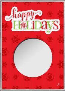 American Silver Eagle Case - Happy Holidays