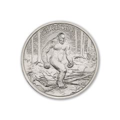 2 oz Bigfoot Silver Round