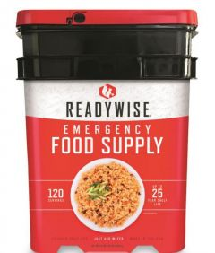 READYWISE Freeze Dried Entrees Bucket - 120 Servings
