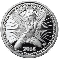 Reddit Silverbug Alyx the Fairy - 1 oz Silver Proof