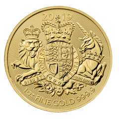 2019 1 oz Great Britain The Royal Arms Gold Coin