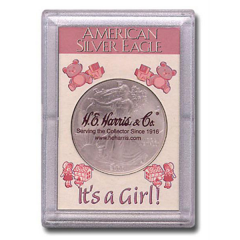 Perma Lock Case for American Silver Eagle - It's a Girl!