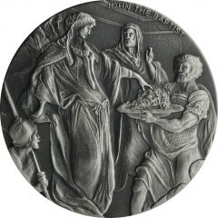 2018 2 oz John the Baptist Biblical Silver Coin Series
