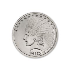 2 oz Indian Tribute Silver Round
