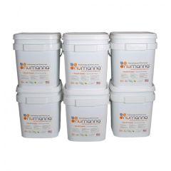 NuManna GMO-Free 6 Months Mega Pack Food Storage - 864 Servings