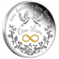 2021 1 oz One Love Proof Silver Coin