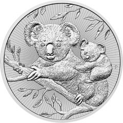 2018 Perth Mint Koala Silver Coins 2 oz - Next Generation Series