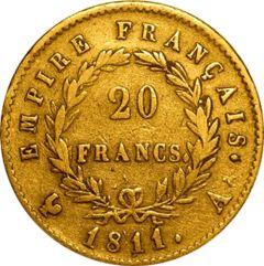20 Franc French Gold Coin Avg Circulated - Random Year