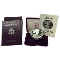 1990 American Silver Eagle Proof