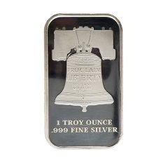 1 oz SD Bullion Proclaim Liberty Silver Bar