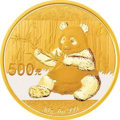 2017 30 Gram Chinese Gold Panda Coin BU