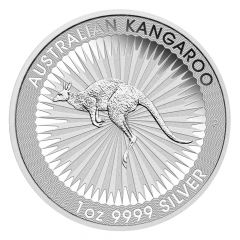 Australian Kangaroo Silver Coin 1 oz - Random Year