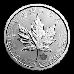 Canadian Silver Maple Leaf Coin - Random Year