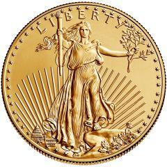 1 oz American Gold Eagle Coin - Random Year (BU)