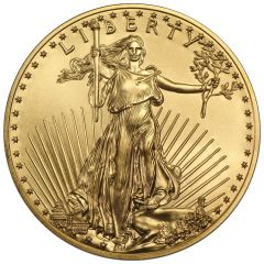 1/4 oz American Gold Eagle Coin - Random Year