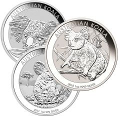Australian Koala Silver Coin 1 oz - Random Year