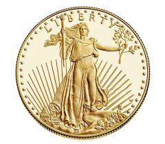 1/10 oz American Gold Eagle Proof Coin - Random Year