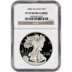 2006-W NGC PF-70 American Silver Eagle Proof