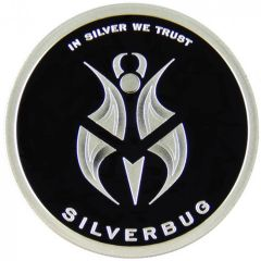 Silverbug 1 oz Silver Proof - In Silver We Trust - 2nd Release