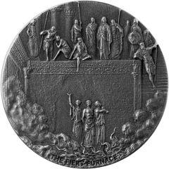 2020 2 oz Fiery Furnace Biblical Silver Coin Series