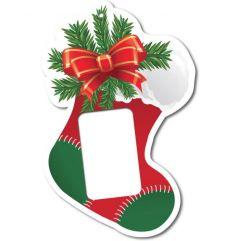 Christmas Stocking Foam Core Ornament - 1 oz Bar