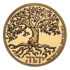 2020 1 oz Tree of Life Proof Gold Coin