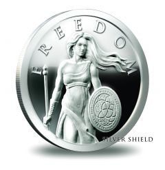 2014 1 oz Silver Shield Standing Freedom Silver Proof
