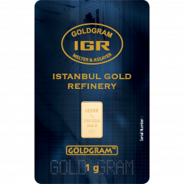 1 Gram Istanbul Gold Refinery Igr Gold Bar Lowest Price