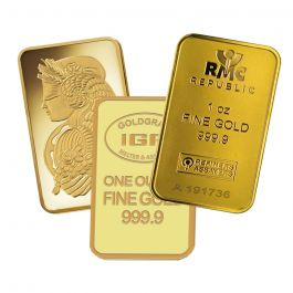 Buy 1 Oz Generic Gold Bars Lowest Price Online