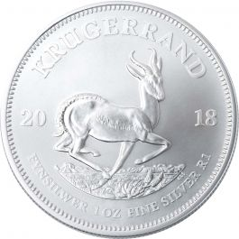 2018 South African Silver Krugerrand Coin Lowest Price
