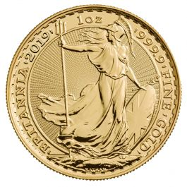 2019 British Royal Mint Gold Britannia Coin Lowest Price