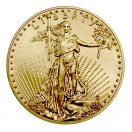 American Gold Eagle Coin 1 Oz Coin Cull Damaged