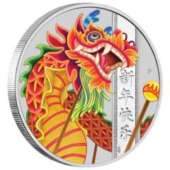 2019 1oz Perth Chinese New Year Proof Silver Coin