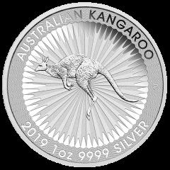 2019 Australian Kangaroo Silver Coin 1 oz