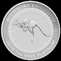 2019 Australian Kangaroo Platinum Coin 1 oz