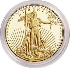 1/2 oz American Gold Eagle Proof Coin - Random Year