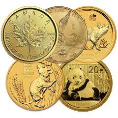 1/20 oz Gold Coins - Random Design