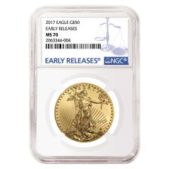 2017 1 oz NGC MS-70 Early Releases Gold American Eagle