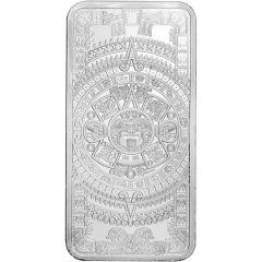 10 oz Aztec Calendar Silver Bar