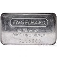 10 oz Silver Engelhard Bar - Random Design
