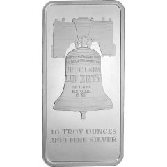 10 oz SD Bullion Proclaim Liberty Silver Bar