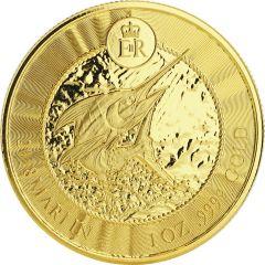 2018 Cayman Island Marlin 1 oz Gold Coin