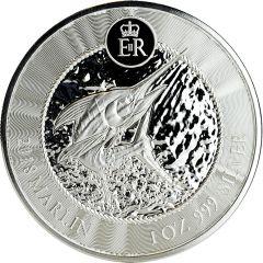 2018 Cayman Islands Marlin Silver Coin 1 oz