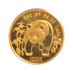 1986 1 oz Gold Chinese Panda Coin - In Original Mint Packaging