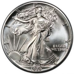 1989 American Silver Eagle Coin